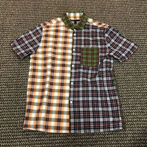 Marc by Marc Jacobs Plaid Short Sleeve Button Up